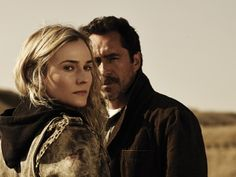 The Bridge on FX, Dianne Kruger, plays a detective with Asperger's who is partnered with a detective from across the Mexican border at El Paso. The bridge connects their two worlds.