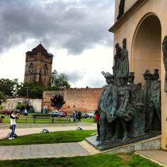 Statues, Arad, Romania