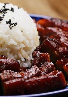 Malaysian-Style Barbecue Pork Belly (Char Siu Pork)