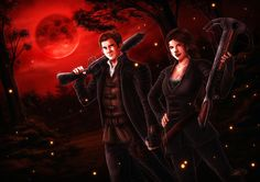 Hansel and Gretel: Witch Hunters by ryodita