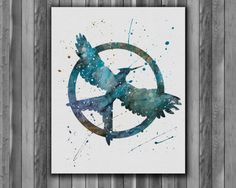 Mockingjay Hunger Games Instant Download by digitalaquamarine