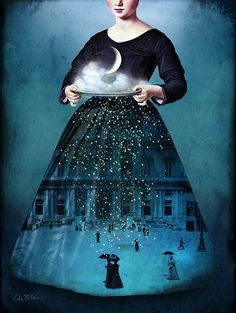 Graphic designer and mother of two, Catrin Welz-Stein lives and works in Malaysia where she creates stunningly surreal works.