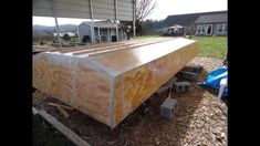 Building a 20 ft. trailerable Houseboat Part - 1 Trailerable Houseboats, Shanty Boat, Trailer Build, Boat Projects, Boat Design, Boat Building, Boating, Nova, Water