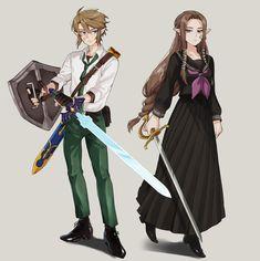 Twilight Princess, Princess Zelda, Fan Drawing, True Legend, Legend Of Zelda, Hero, Fan Art, Anime, Fictional Characters
