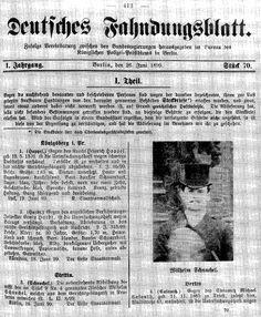 Image result for 60 In Berlin the studio of Zielsdorf & Adler took the pictures up to 1890 ; see : Zur Anfertigung (18 (...)