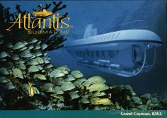 Atlantis Submarine Expedition Grand Cayman | Atlantis Submarine. Grand Cayman, B.W.I Boats, Ships