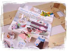 """[Produkt vorgestellt] Geschenk-Bastelset """"süße Dekorationsideen"""" von Folia Paper, Neuerscheinungen Frühjahr 2016"""