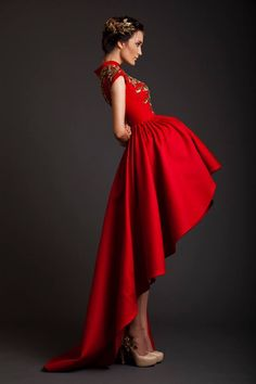 Evening Dresses | Krikor Jabotian Akhtamar Collection