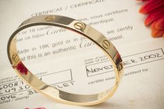 Cartier Love Bracelet Armreif in 750er Gelbgold  inkl. OVP Schraubenzieher & Zertifikat