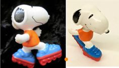 Snoopy on roller blades PVC