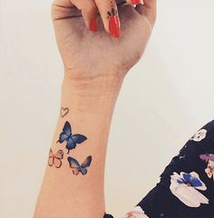 I want these cute little butterfly guys added around my ...