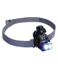 6 Quirky Flashlights for Halloween :LEGO Star Wars Head Lamp