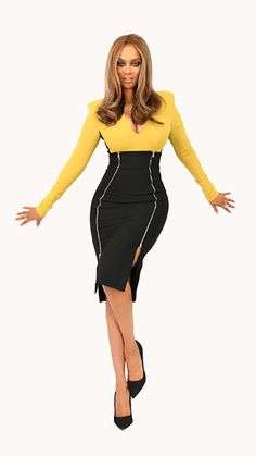 Tyra Banks: Look of the Day