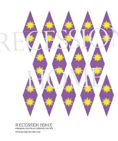 DIY Rapunzel Decoration  Printable Party Pack by RecessionHome -- would work with straws, too...