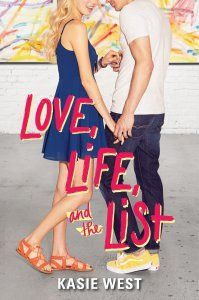 If you are in the mood for light, easy book to read with romance and high-schoolers, I recommend Love, Life and the List.