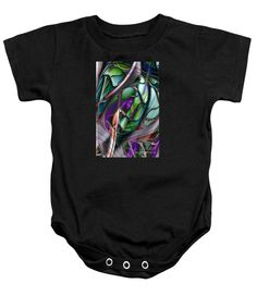 Purchase a baby onesie featuring the image of Deep Sea 5 by Kimberly Hansen.  Available in sizes S - XL.  Each onesie is printed on-demand, ships within 1 - 2 business days, and comes with a 30-day money-back guarantee.