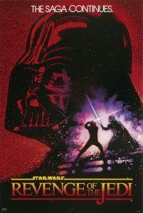 Star Wars VI Powrót Jedi - plakat