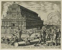 Maarten van Heemskerck (1498-1574) Temple of Artemis.