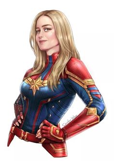 Captain Marvel By SpiderWee Marvel Comics, Marvel E Dc, Marvel Girls, Disney Marvel, Marvel Heroes, Marvel Avengers, Cosmic Comics, Marvel Women, Dc Superhero Girl