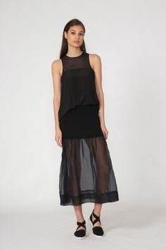 moochi jinx skirt - spring 2016 COLLECTION Look Cool, You Look, Through The Looking Glass, Spring 2016, Normcore, Skirts, Collection, Black, Style