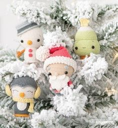 25 Crochet Christmas Patterns to Try - A More Crafty Life Christmas Minis, Christmas Crafts, Christmas Decorations, Christmas Tree, Christmas Pillow, Amigurumi Doll, Amigurumi Patterns, Reindeer And Sleigh, Christmas Crochet Patterns