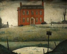The Empty House, L S  Lowry 1934