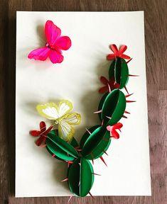 103 mentions J'aime, 2 commentaires – Art For Kids (@craft_for_kids) sur Instagram : «Cactus  кактус  #kidscraft #kraftykids #cactus #papercraft #детскиеподелки #детскоетворчество…»