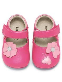 See Kai Run Baby Girls Midori Pink Sandal Shoes