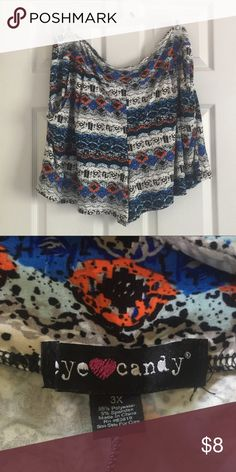 "Super soft print shorts These are softer than pajamas!!  Eye Candy brand. Laying flat 20"" and 30"" full stretch Shorts"