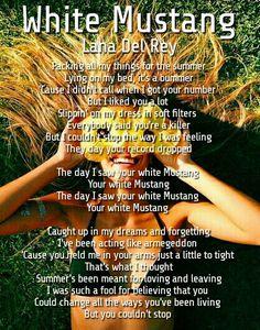 Lana Del Rey #White_Mustang