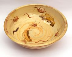 Mary Johnson Ceramics - life in the leaf litter.