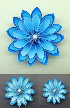 Adorable Paper Flowers How to make Beautiful Paper Flower DIY Paper Crafts Paper Flowers Craft, How To Make Paper Flowers, Large Paper Flowers, Paper Flower Backdrop, Paper Roses, Flower Crafts, Diy Flowers, Flower Diy, Flower Paper
