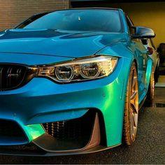BMW F80 M3 turquoise