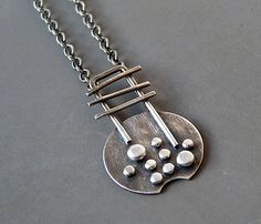 Sterling silver necklace Silver necklace by Kailajewellery
