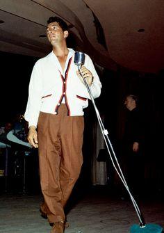 Dean Martin on stage