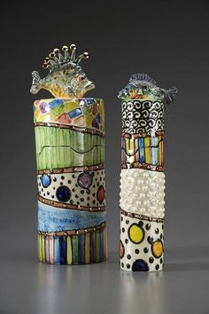 Julia Roxburgh Ceramics - let's go fishing