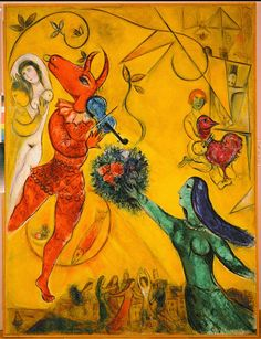 Abstract Art by Marc Chagall via Twitter★♡★