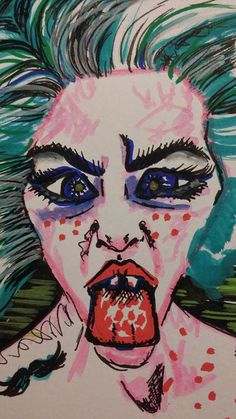 PAIN to PEN - on Behance    Art from #AutoImmuneHepatitis & #Fibromyalgia Crisis     Sara Liliane Fernandez  @Slf 2017