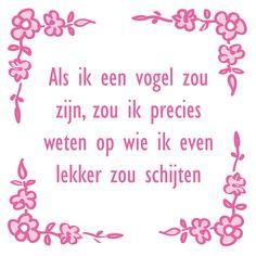 Jokes Quotes, Qoutes, Funny Quotes, Funny Memes, Happy Jar, Happy Minds, Dutch Quotes, Humor, Zou