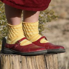Filigree Crochet Socks by Lazy Perry Ranch. A very nice toe up pattern.