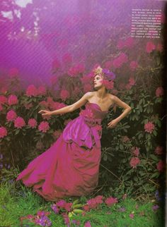 Stella Tennant inDream and Magic byTim Walker, Vogue Italia, August 2007.