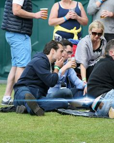 Henry Cavill at The Groove festival in Ireland, Day 2 (My reaction *gasp!* noooo!)