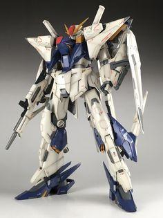 Painted Build: RECKLESS STUDIO 1/144 RX-105 Xi Gundam