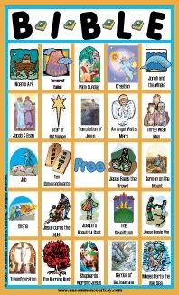 Bingo Bible Stories for Kids