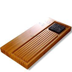 Bamboo Gongfu Tea Set With Sponge