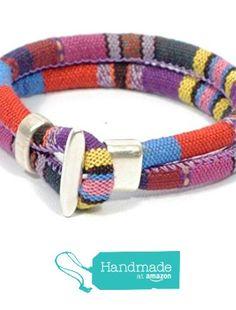 Aztec fabric bracelet * multicolor bracelet * purple ethnic bracelet * tribal bracelet * girls surfer bracelet * women fabric bracelet from Cozy Detailz http://smile.amazon.com/dp/B0164EVW7A/ref=hnd_sw_r_pi_dp_S7Tlwb0A78MR1 #handmadeatamazon