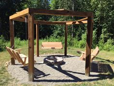 4 Admirable Clever Tips: Fire Pit Seating Summer fire pit furniture tree stumps.Fire Pit Decor Budget fire pit decor how to make. Backyard Swings, Pergola Swing, Fire Pit Backyard, Pergola Plans, Porch Swings, Pergola Kits, Backyard Seating, Gazebo Ideas, Backyard Ideas