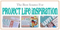 The best place to get Project Life inspiration | http://scrapinspired.com/project-life-inspiration/