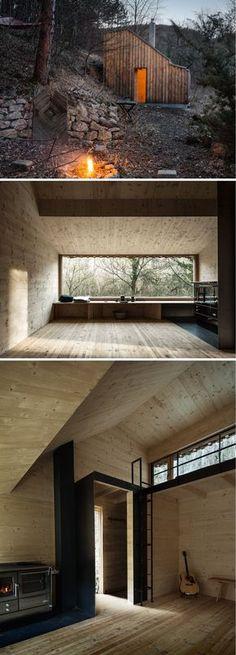 Tom's Cabin Hut by Raumhochrosen Studio.