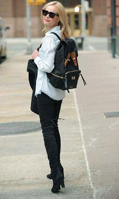 Kate Bosworth Gives Us MEGA Backpack Envy
